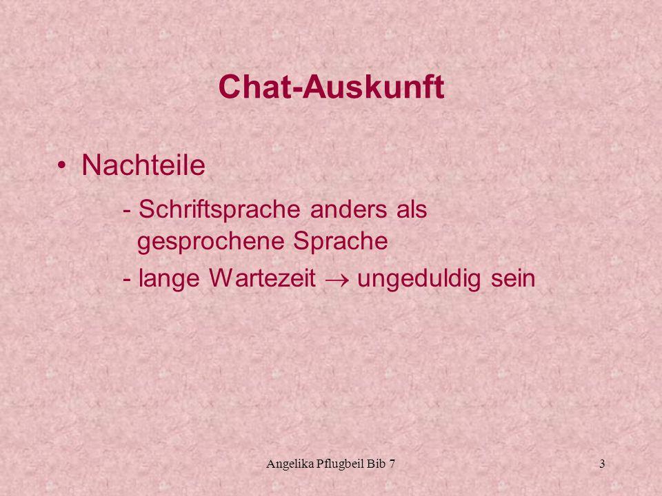Angelika Pflugbeil Bib 7