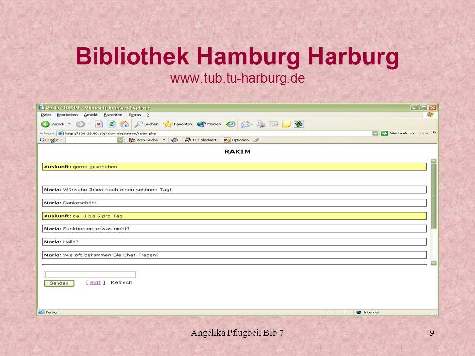 Bibliothek Hamburg Harburg www.tub.tu-harburg.de