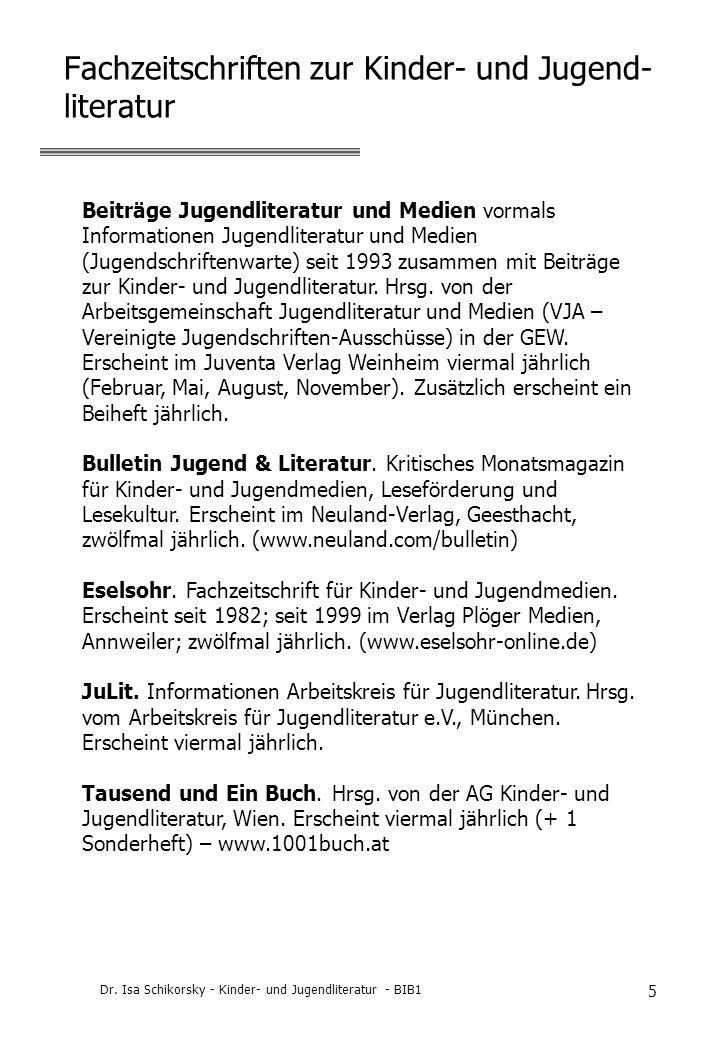 Fachzeitschriften zur Kinder- und Jugend-literatur