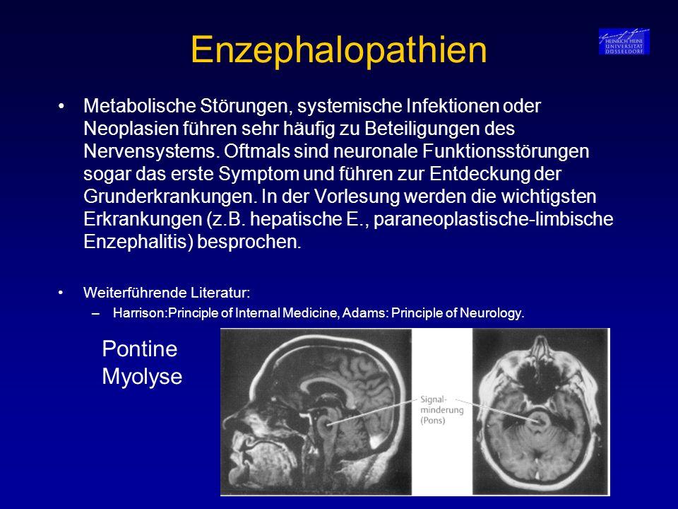 Enzephalopathien Pontine Myolyse