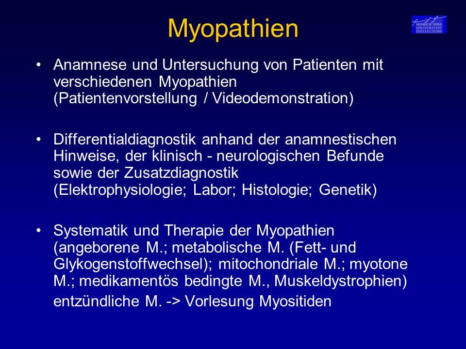Myopathien