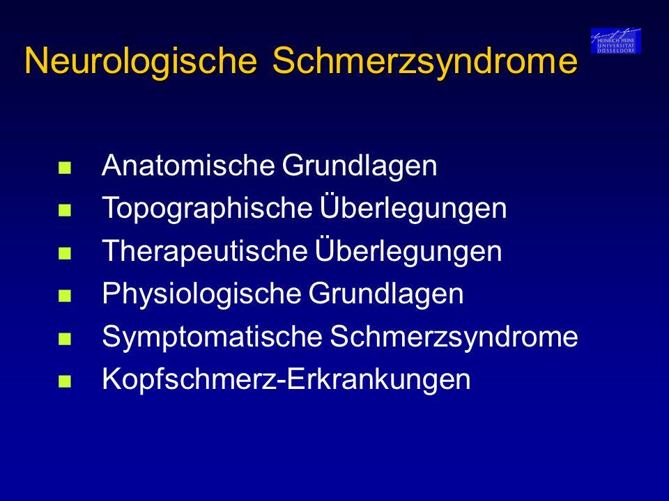 Neurologische Schmerzsyndrome