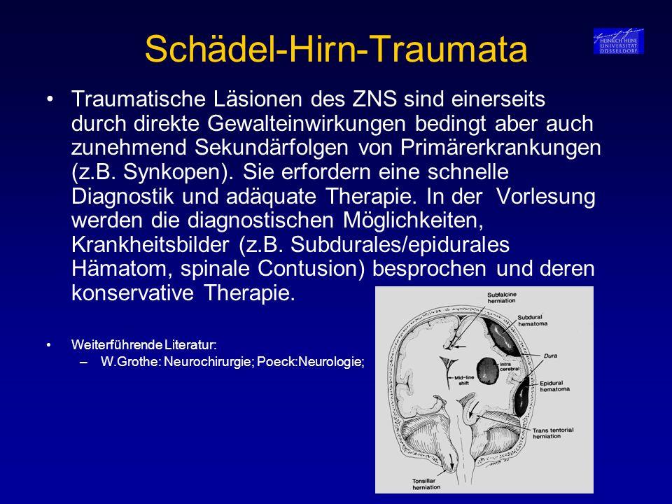 Schädel-Hirn-Traumata