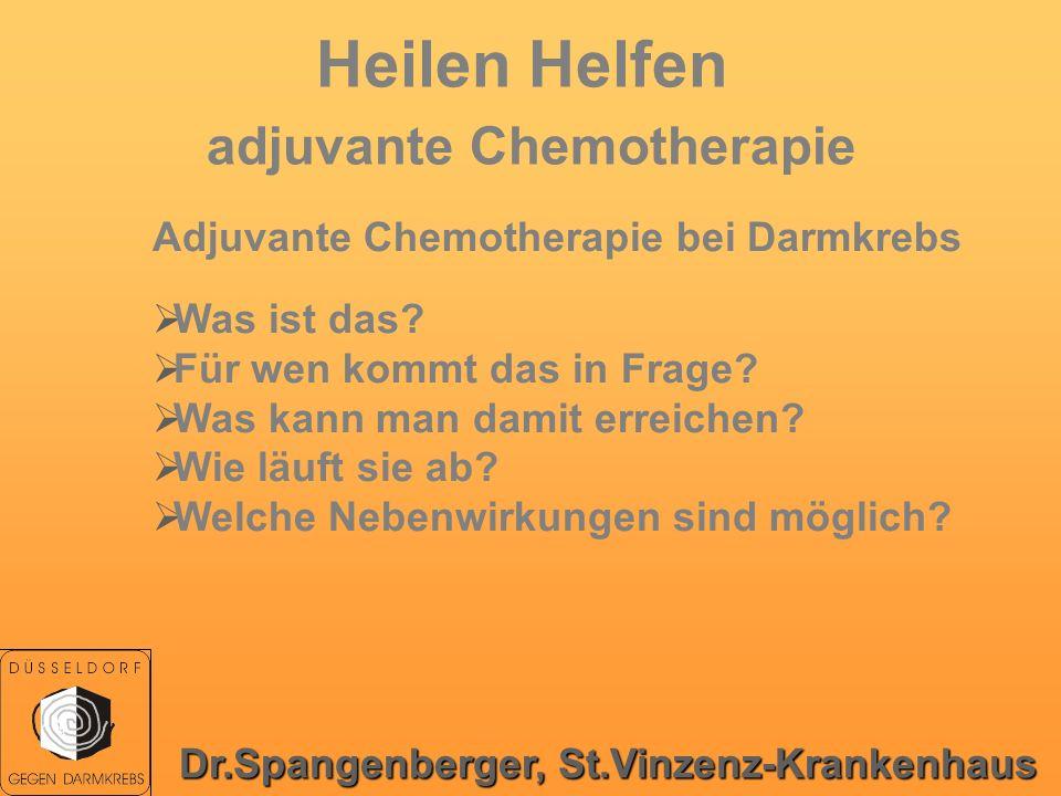 Heilen Helfen adjuvante Chemotherapie