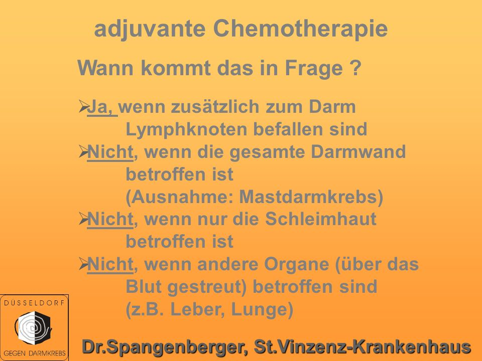 adjuvante Chemotherapie