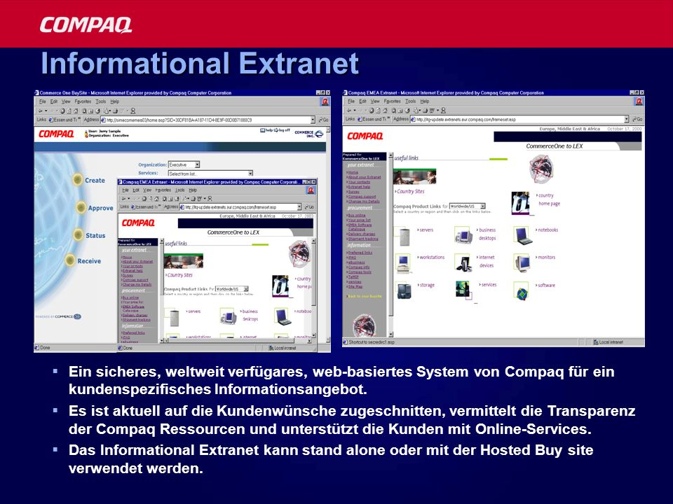Informational Extranet