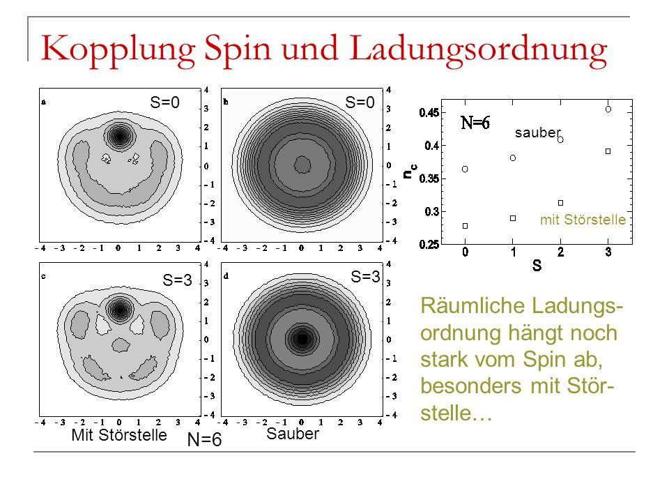 Kopplung Spin und Ladungsordnung