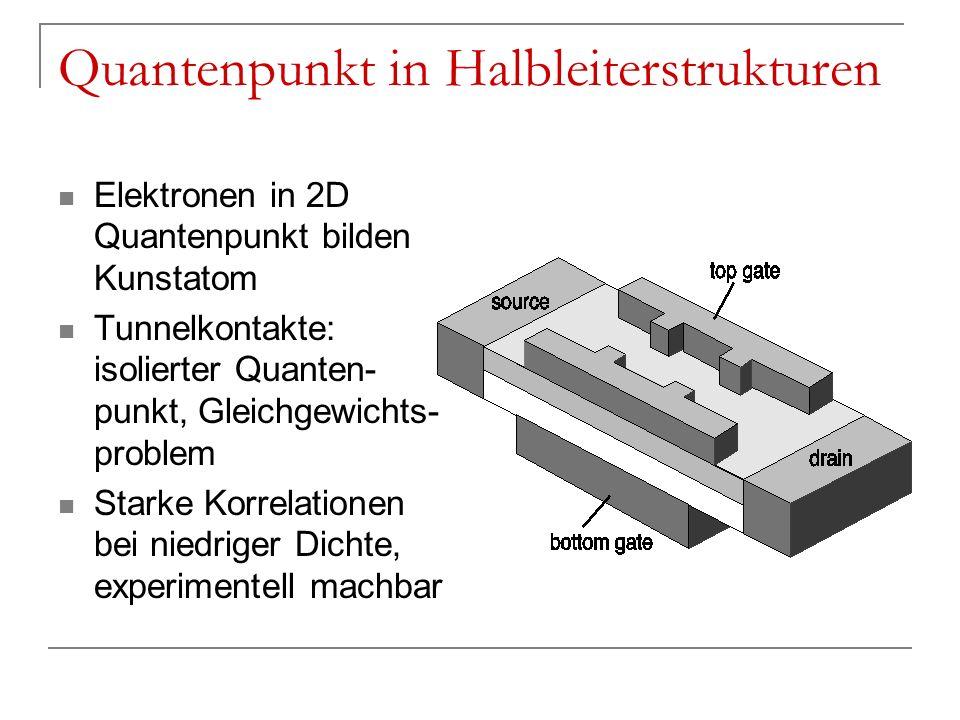 Quantenpunkt in Halbleiterstrukturen