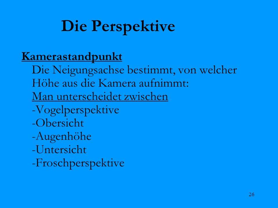 Die Perspektive