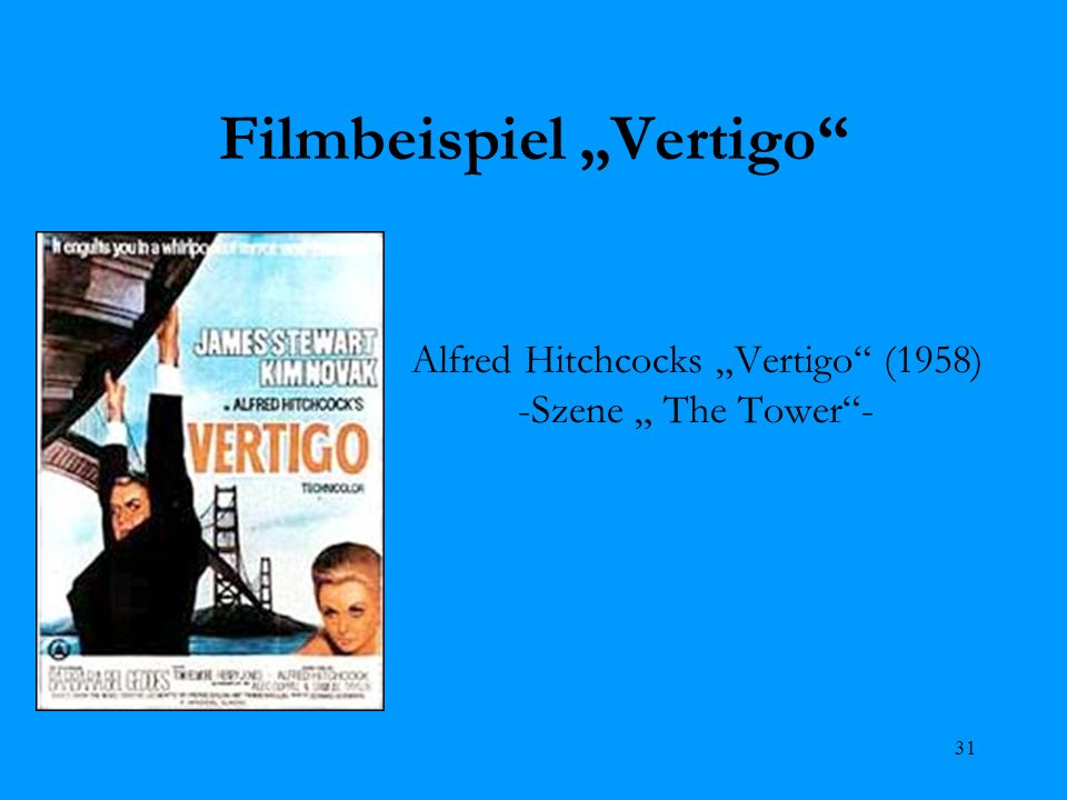 """Filmbeispiel """"Vertigo"""