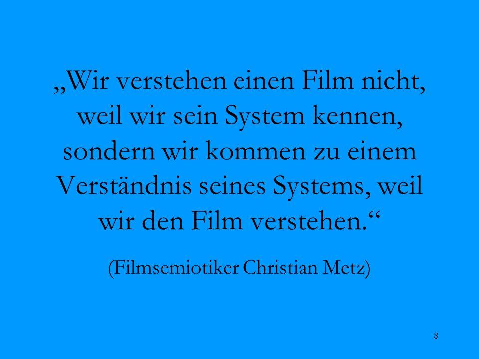 (Filmsemiotiker Christian Metz)