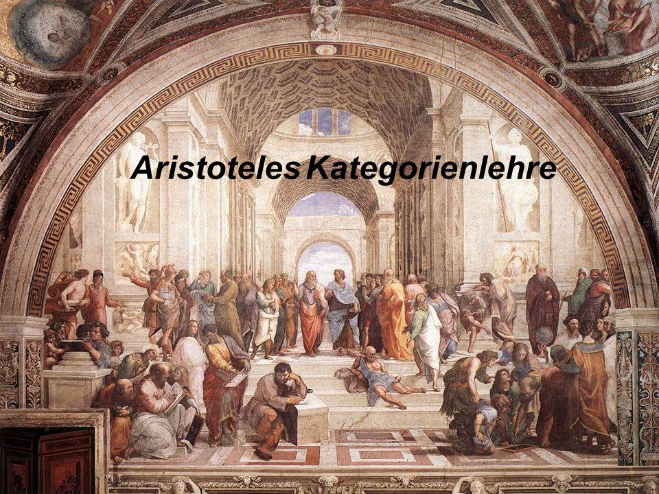 Aristoteles Kategorienlehre