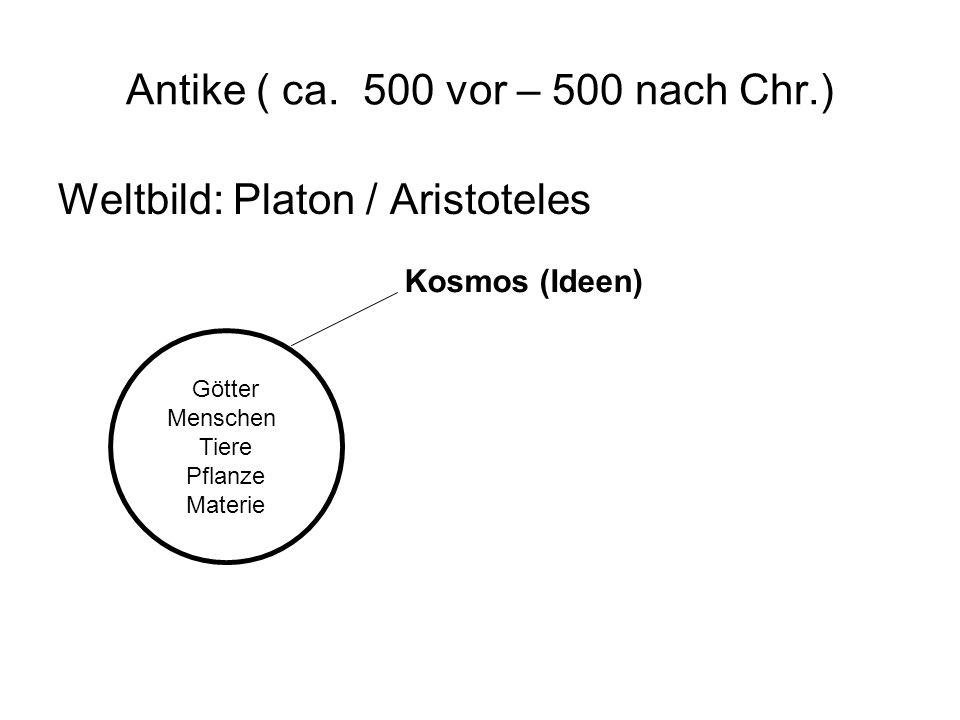 Antike ( ca. 500 vor – 500 nach Chr.)