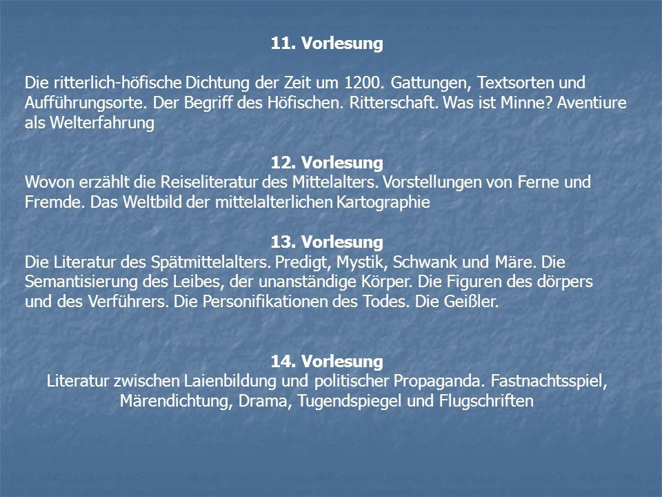 11. Vorlesung