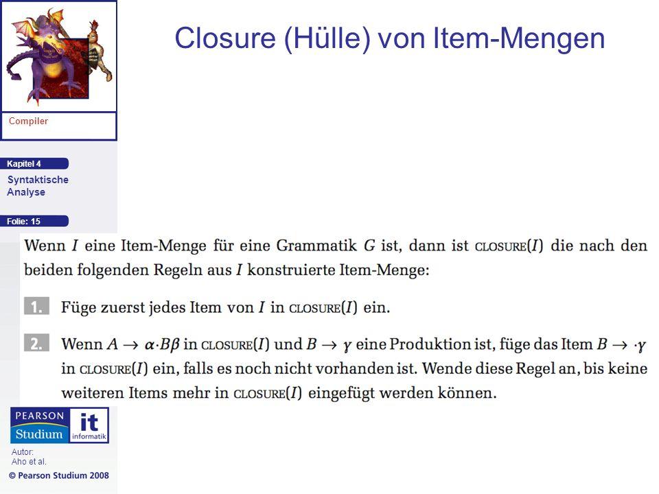 Closure (Hülle) von Item-Mengen