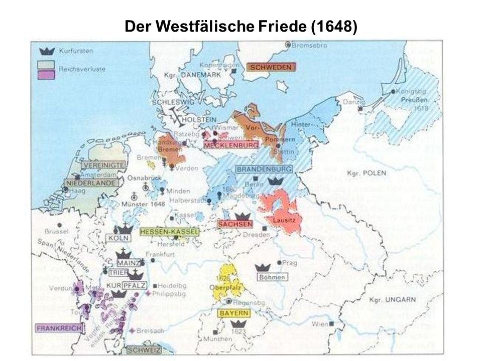 Der Westfälische Friede (1648)