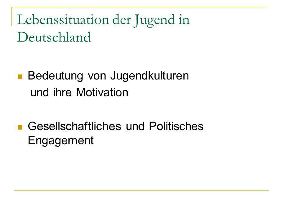 Lebenssituation der Jugend in Deutschland