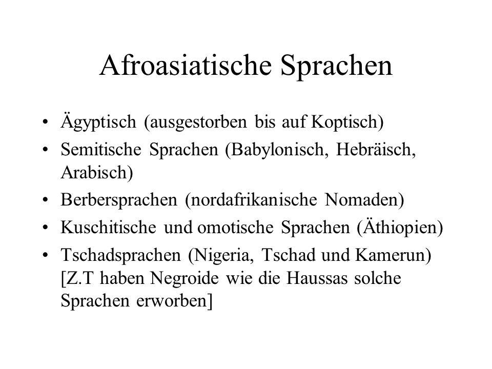 Afroasiatische Sprachen