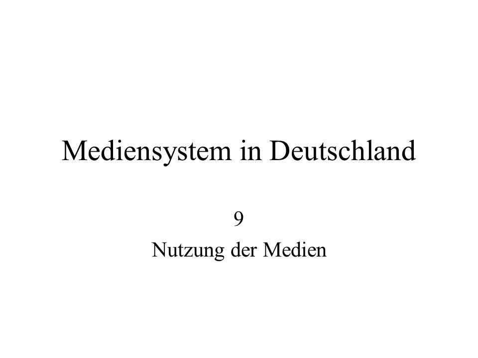 Mediensystem in Deutschland