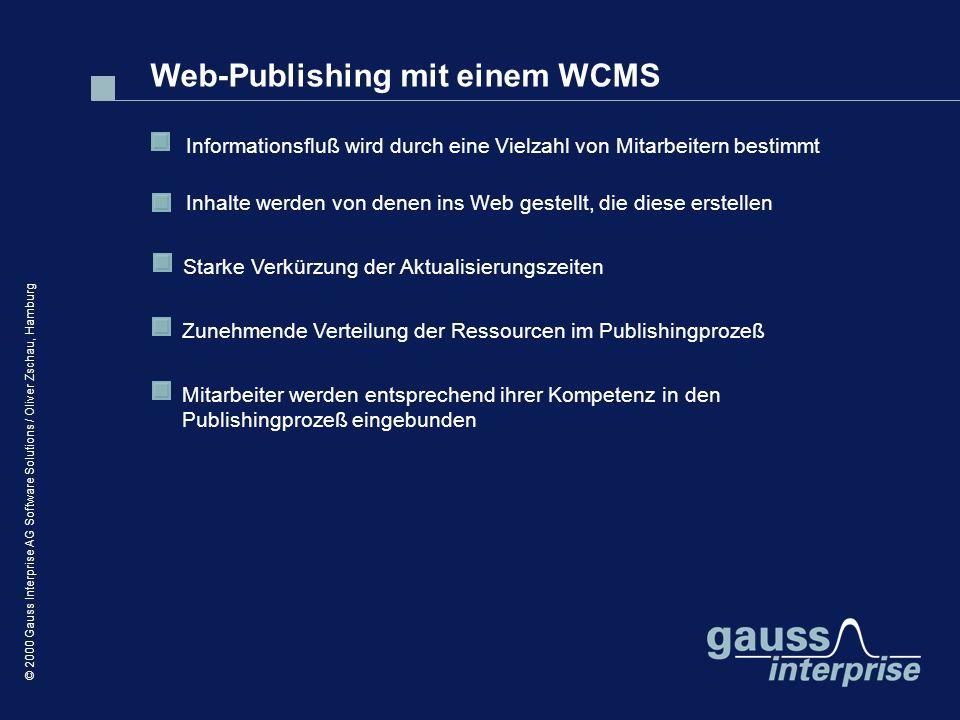 Web-Publishing mit einem WCMS