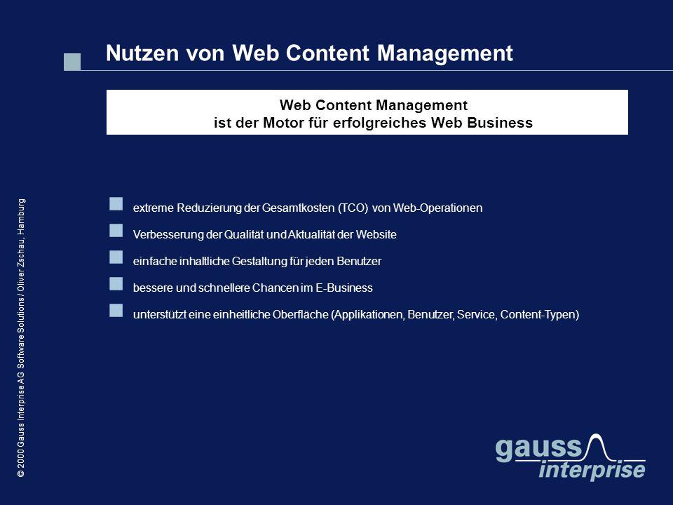 Web Content Management ist der Motor für erfolgreiches Web Business