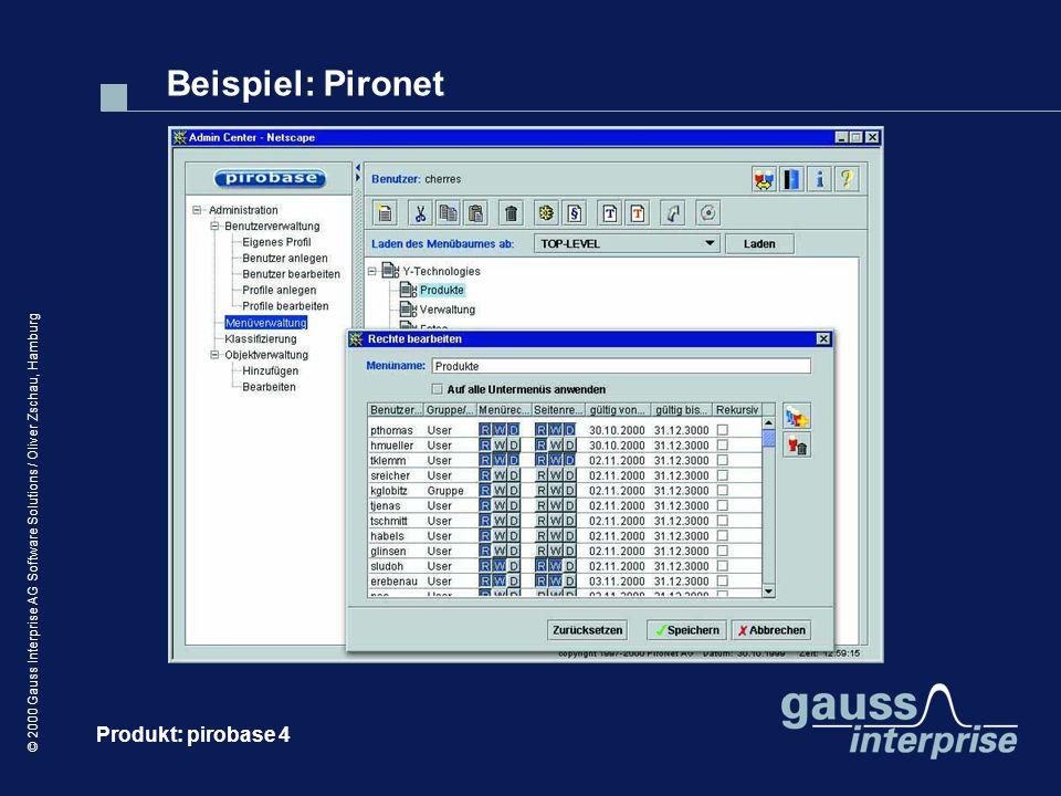 Beispiel: Pironet Produkt: pirobase 4
