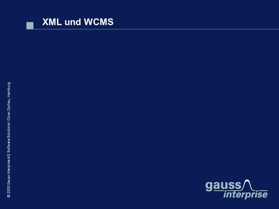 XML und WCMS