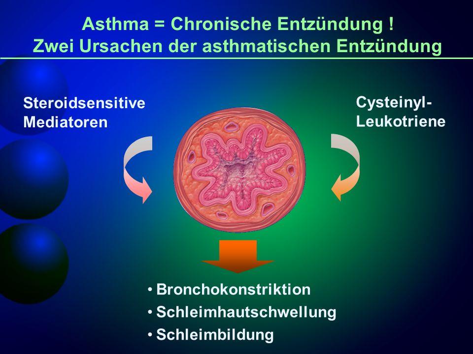 Asthma = Chronische Entzündung !