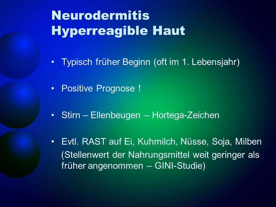 Neurodermitis Hyperreagible Haut