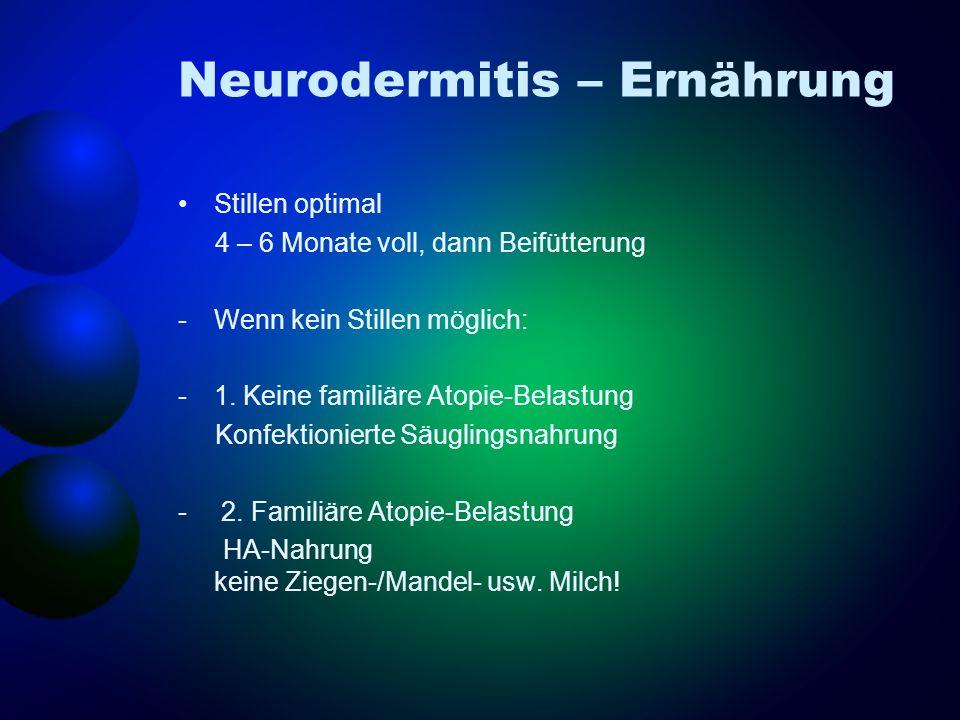 Neurodermitis – Ernährung