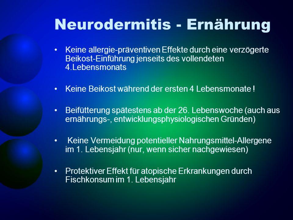 Neurodermitis - Ernährung
