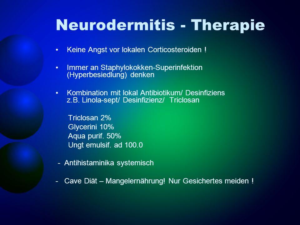 Neurodermitis - Therapie
