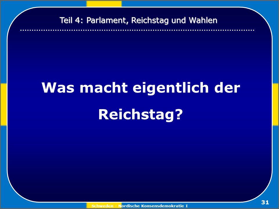 Was macht eigentlich der Reichstag
