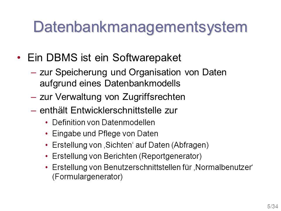 Datenbankmanagementsystem