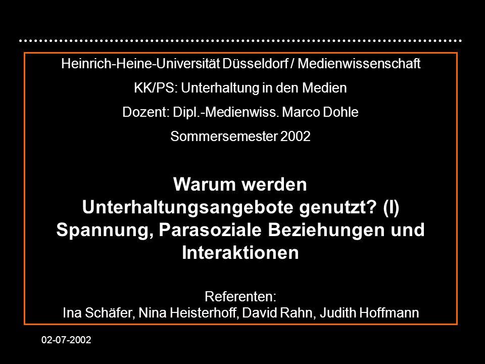 Heinrich-Heine-Universität Düsseldorf / Medienwissenschaft