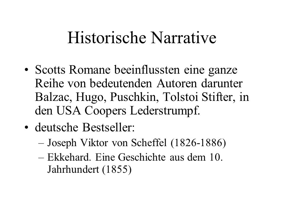 Historische Narrative