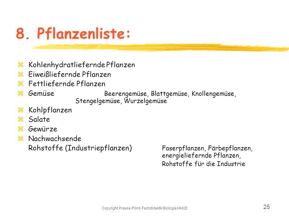 Copyright: Frauke Pöml, Fachdidaktik Biologie HHUD
