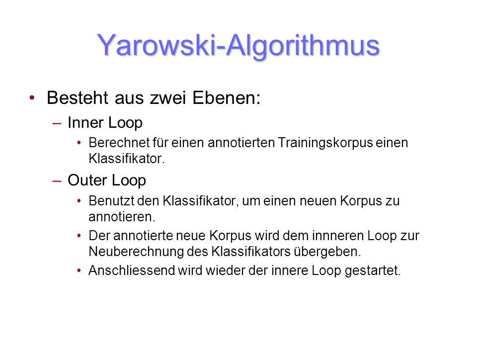 Yarowski-Algorithmus