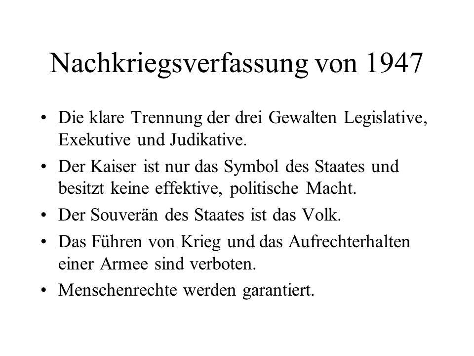 Nachkriegsverfassung von 1947