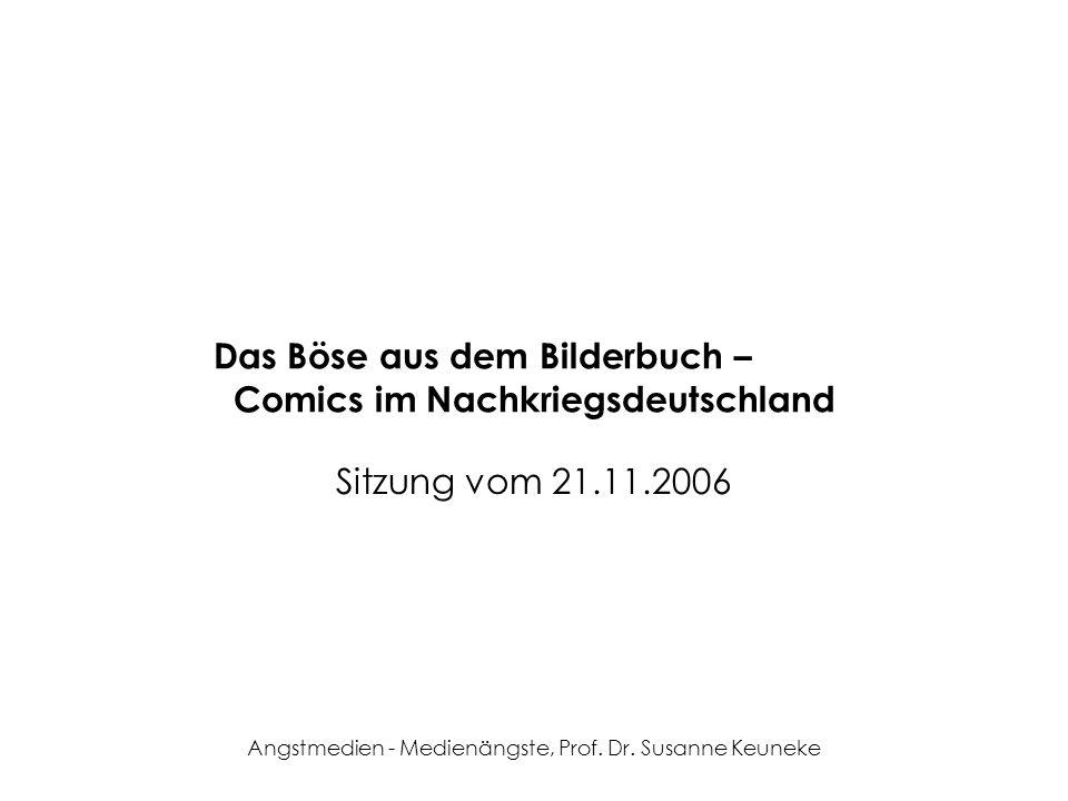 Das Böse aus dem Bilderbuch – Comics im Nachkriegsdeutschland