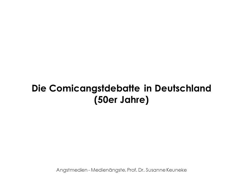 Die Comicangstdebatte in Deutschland (50er Jahre)