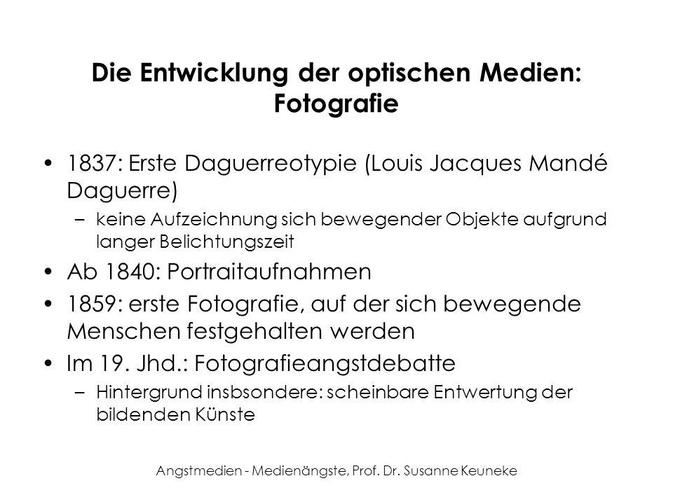 Die Entwicklung der optischen Medien: Fotografie