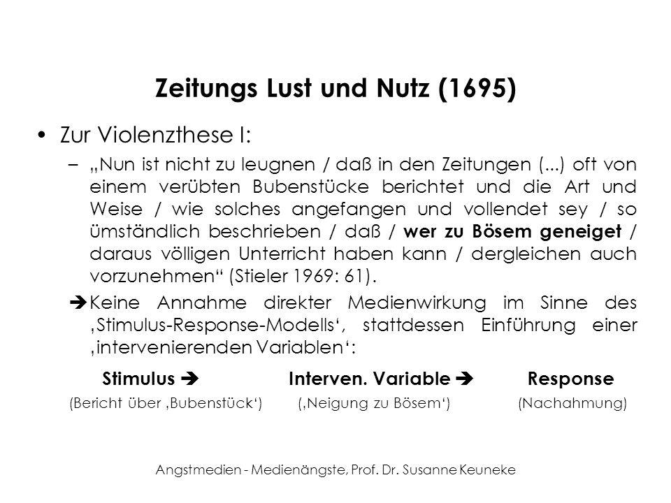 Zeitungs Lust und Nutz (1695)