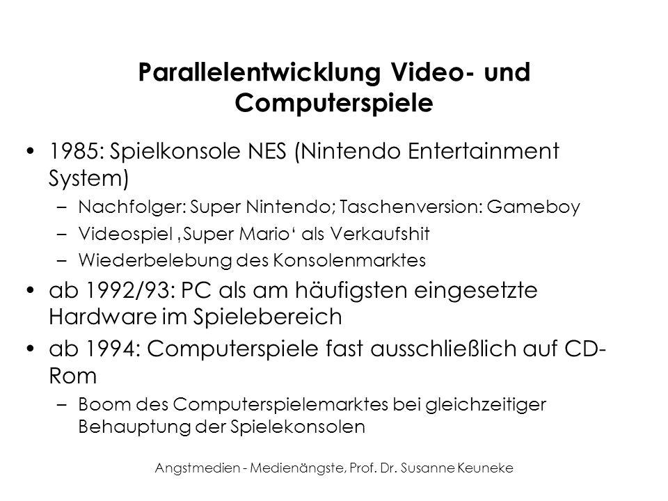Parallelentwicklung Video- und Computerspiele