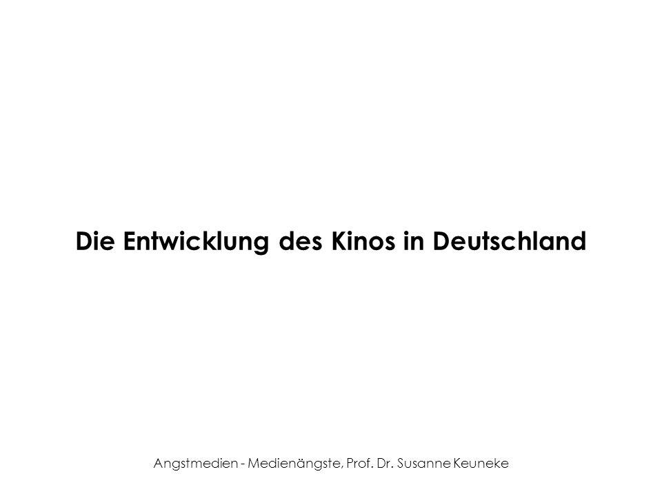 Die Entwicklung des Kinos in Deutschland