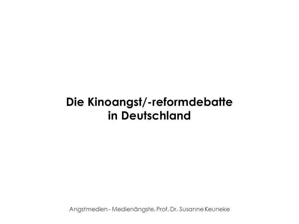 Die Kinoangst/-reformdebatte in Deutschland