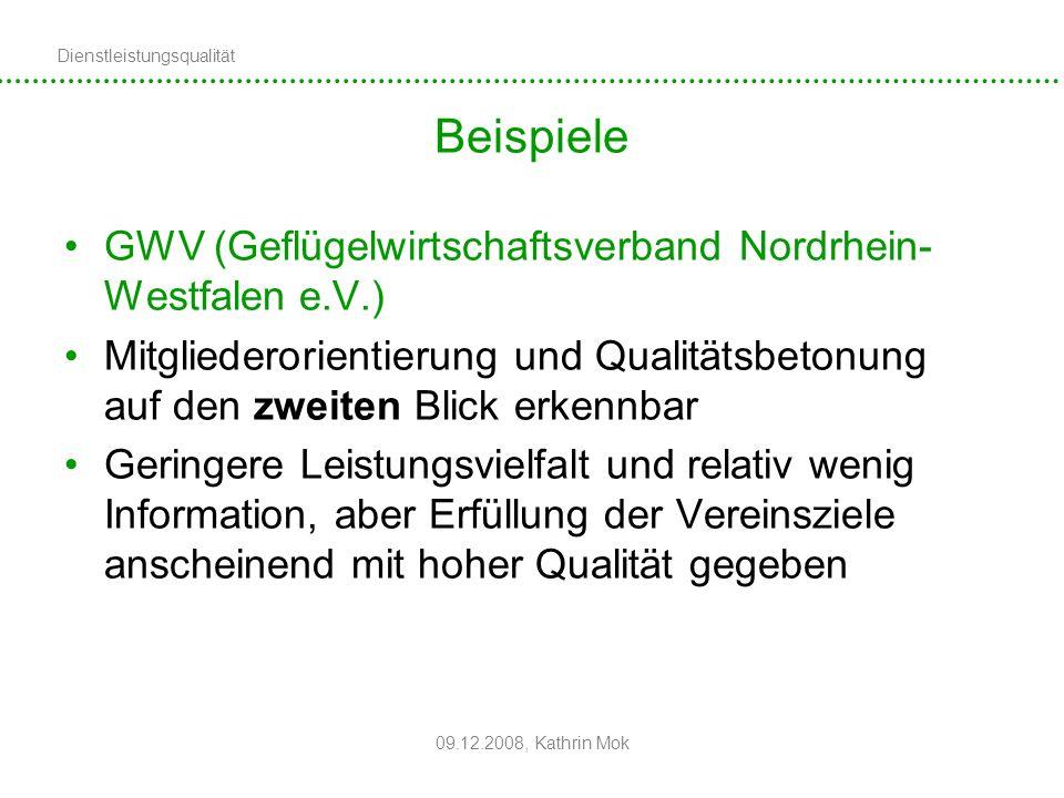 Beispiele GWV (Geflügelwirtschaftsverband Nordrhein-Westfalen e.V.)