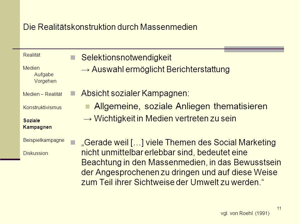Allgemeine, soziale Anliegen thematisieren