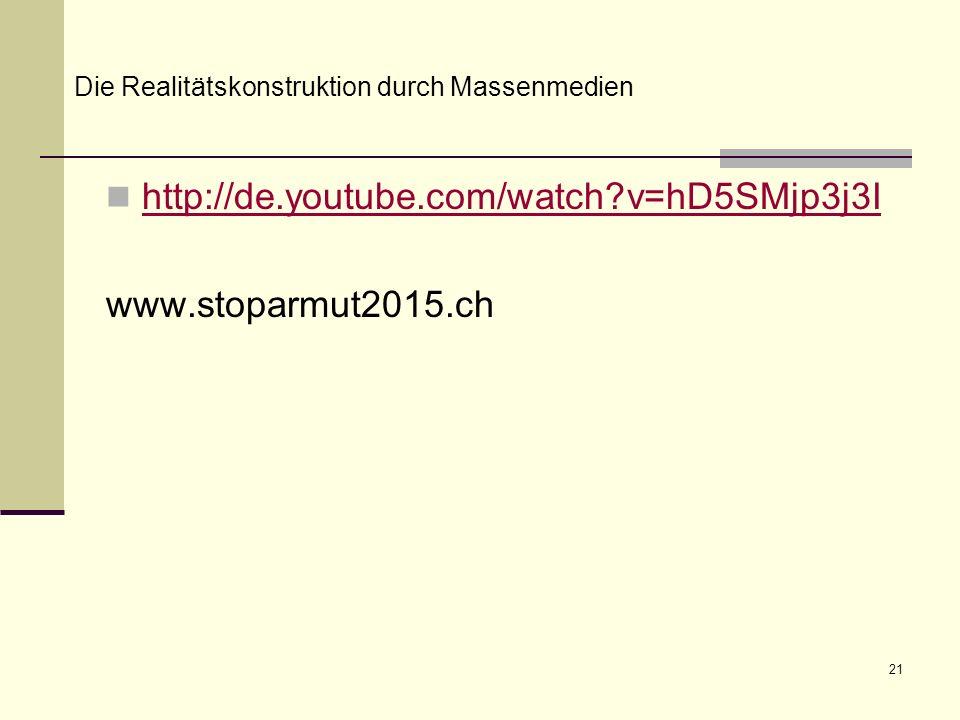 http://de.youtube.com/watch v=hD5SMjp3j3I www.stoparmut2015.ch