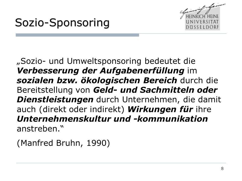 Sozio-Sponsoring
